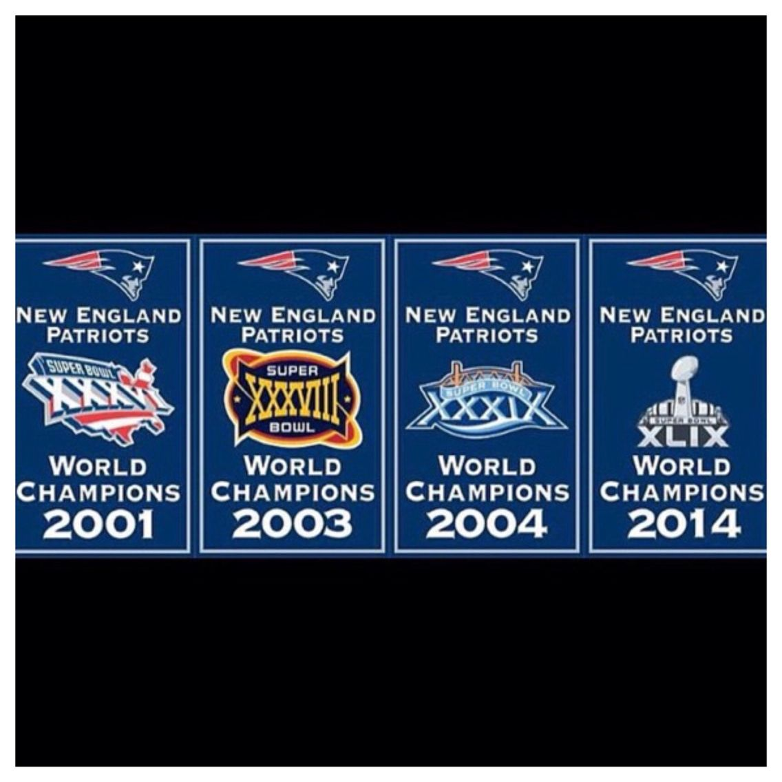 4 Time Super Bowl Champs New England Patriots Football New England Patriots Patriots