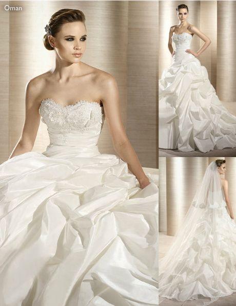 Vestido de novia con elegantes acabados en el corset - Foto: Atelier ...