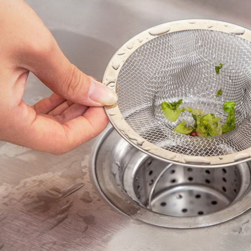 new 1 pc kitchen bathroom stainless steel sink strainer waste disposer plug drain stopper filter tool new 1 pc kitchen bathroom stainless steel sink strainer waste      rh   pinterest com