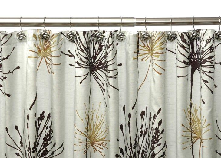 Dandelion Shower Curtain Shower Curtains Bath Shower Curtain