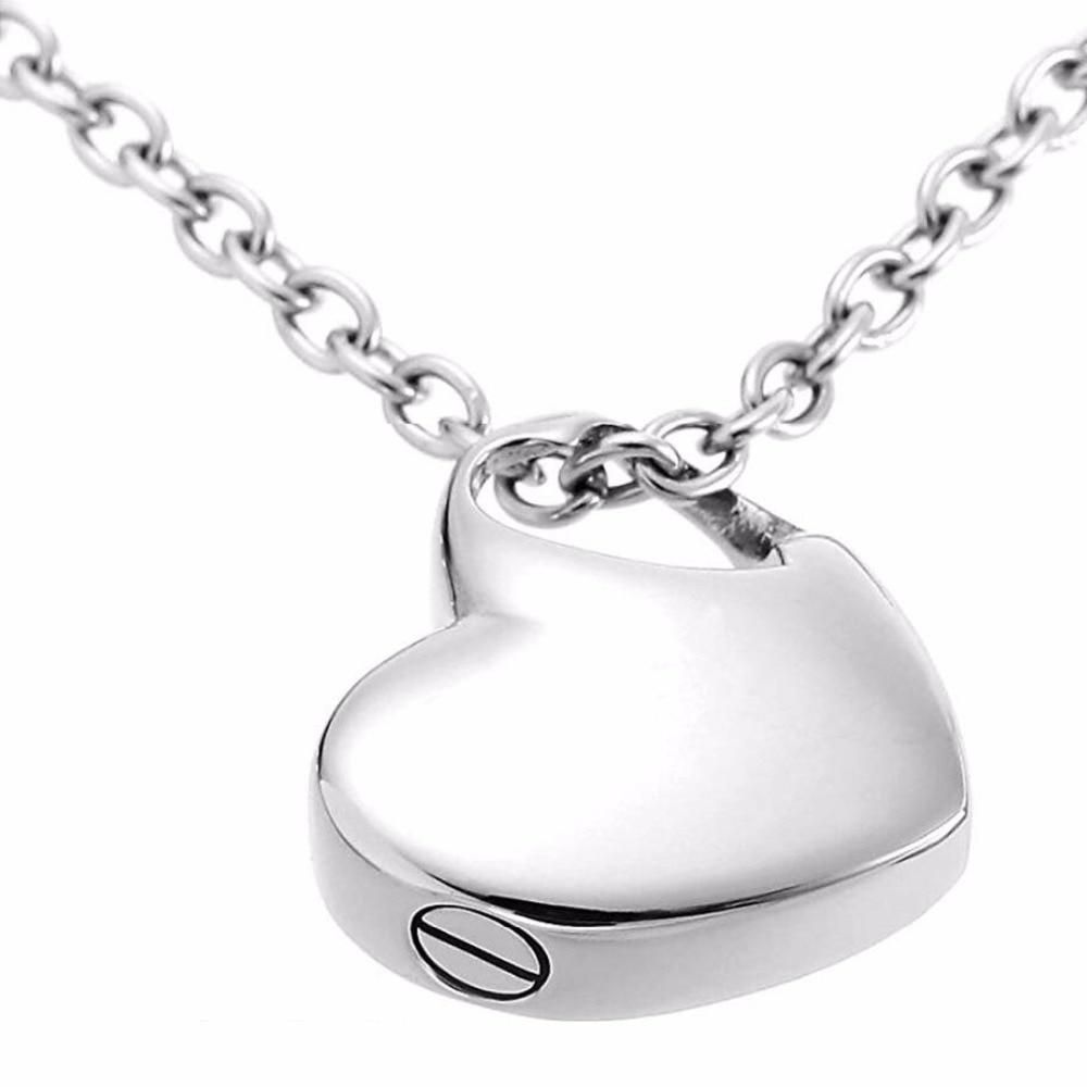 Stainless Steel Small Heart Pendant