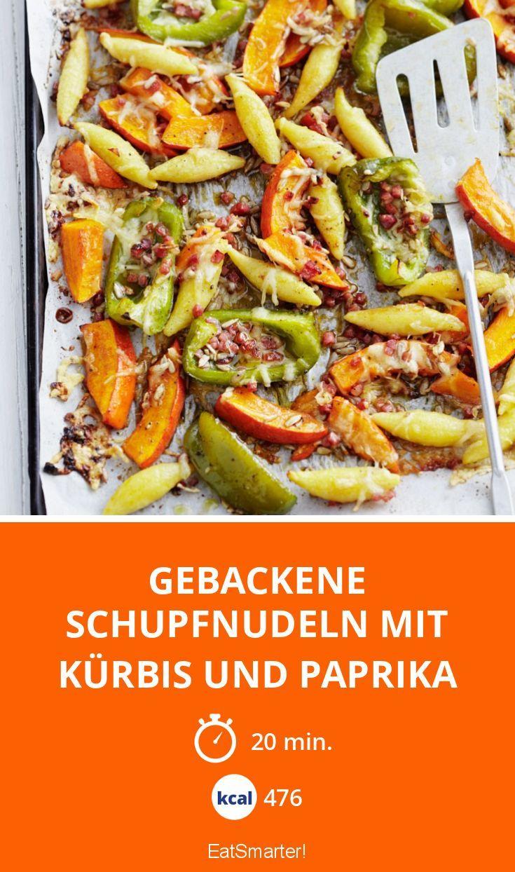 Gebackene Schupfnudeln Mit Kurbis Und Paprika Recipe In 2018