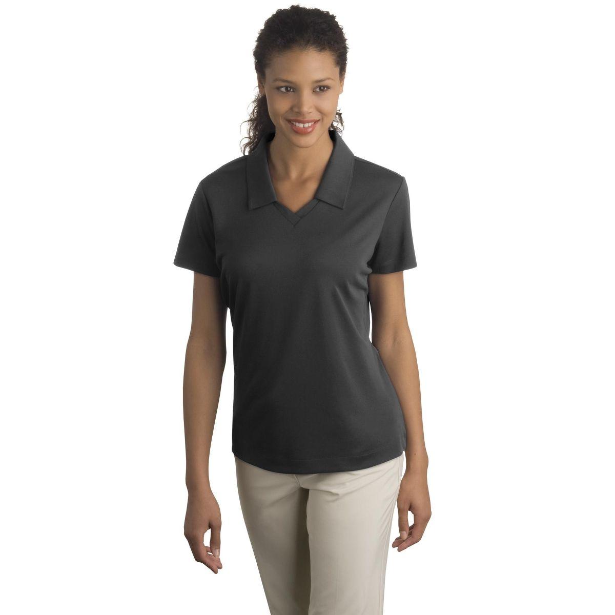 Custom nike golf ladies drifit micro pique sport shirt