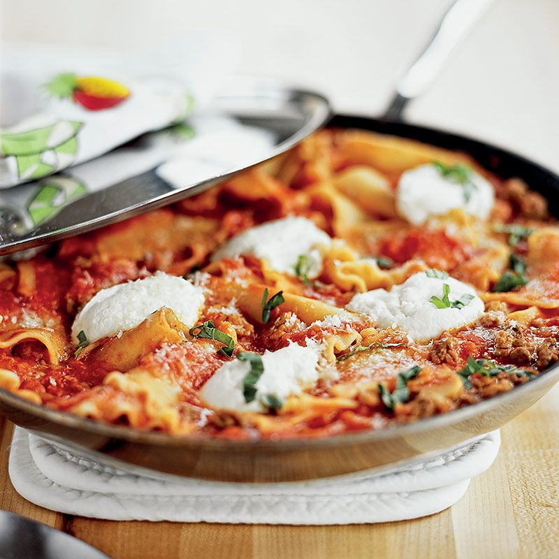 recipe: skillet lasagna cooks illustrated [1]