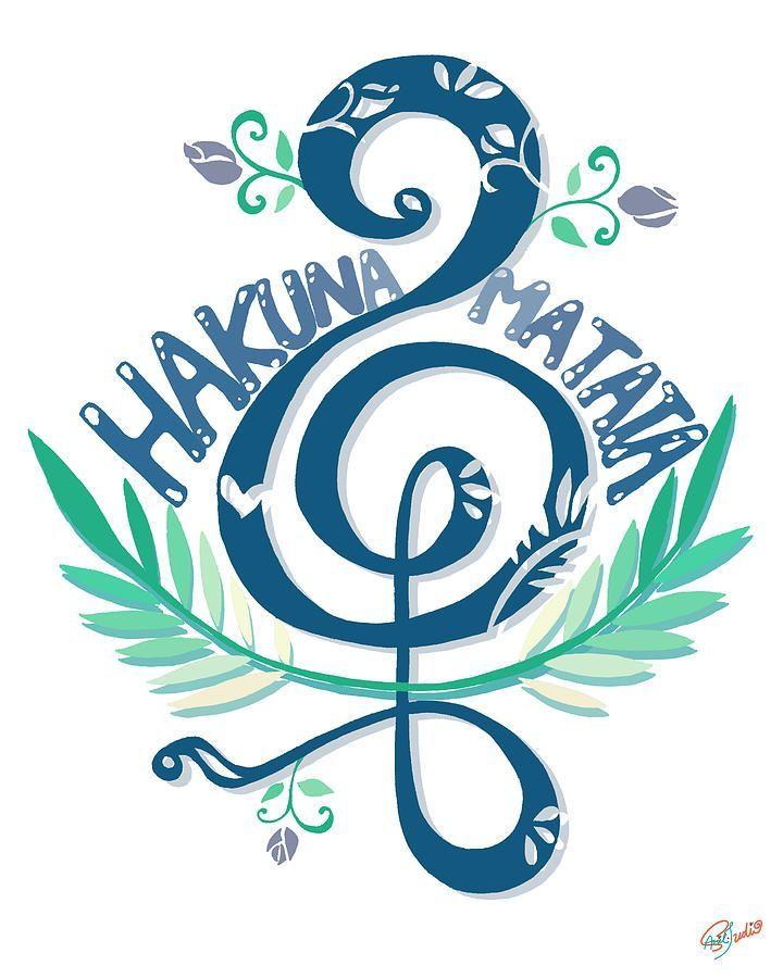 Hakuna Matata Symbol Google Search Tattoo Pinterest