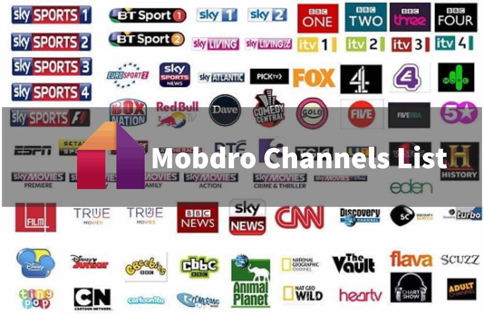 Channels List Online TV Guide & Android App Online tv