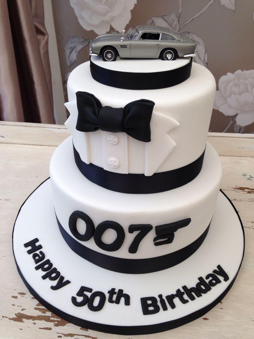 James Bond Cake Bolos De Aniversario Para Homens Bolos De