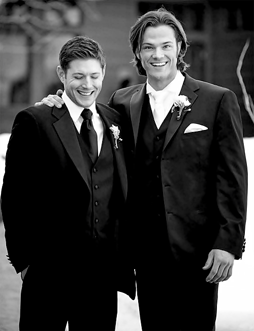 Jensen And Jared On S Wedding Day