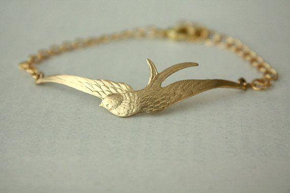 Bracelet Gold Bird