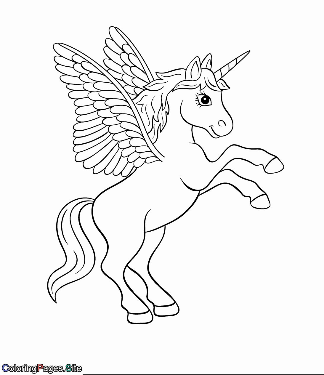 28 unicorn pegasus coloring page in 2020 | pokemon