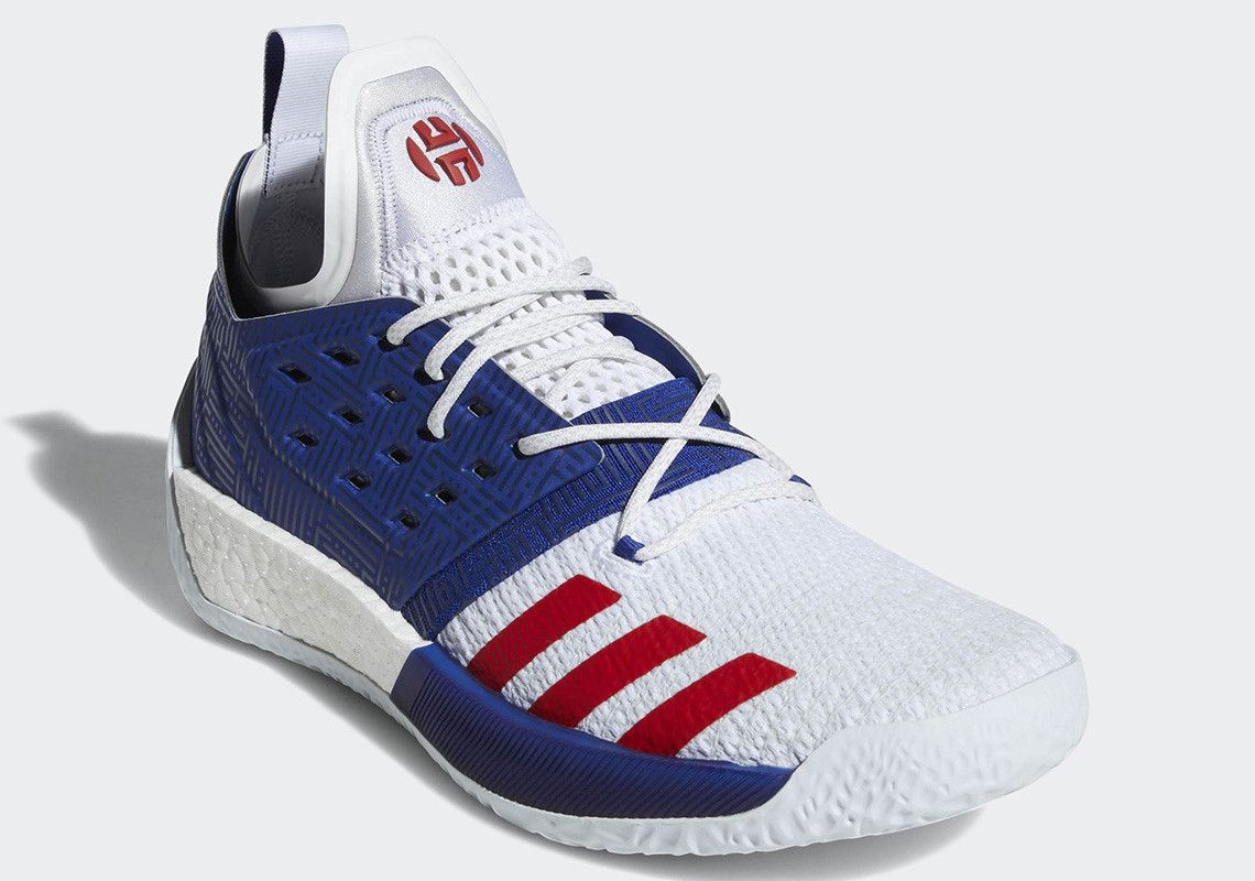 Adidas Harden Vol 2 Aq0026 Release Date Sneakernews Com Top Basketball Shoes James Harden Shoes Tenis Shoes