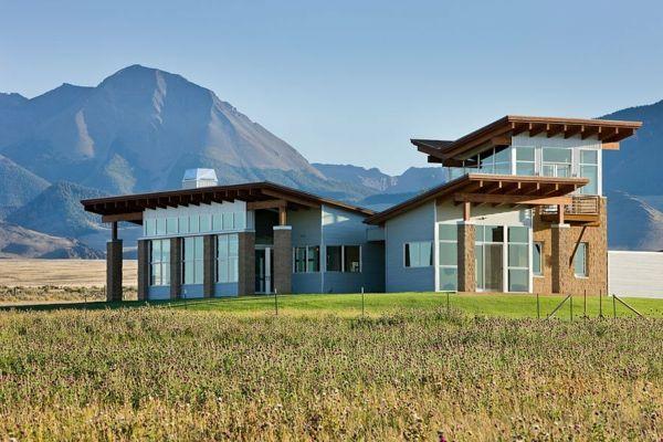 modern architecture ranch idaho ARCHITECTURE countrybeach