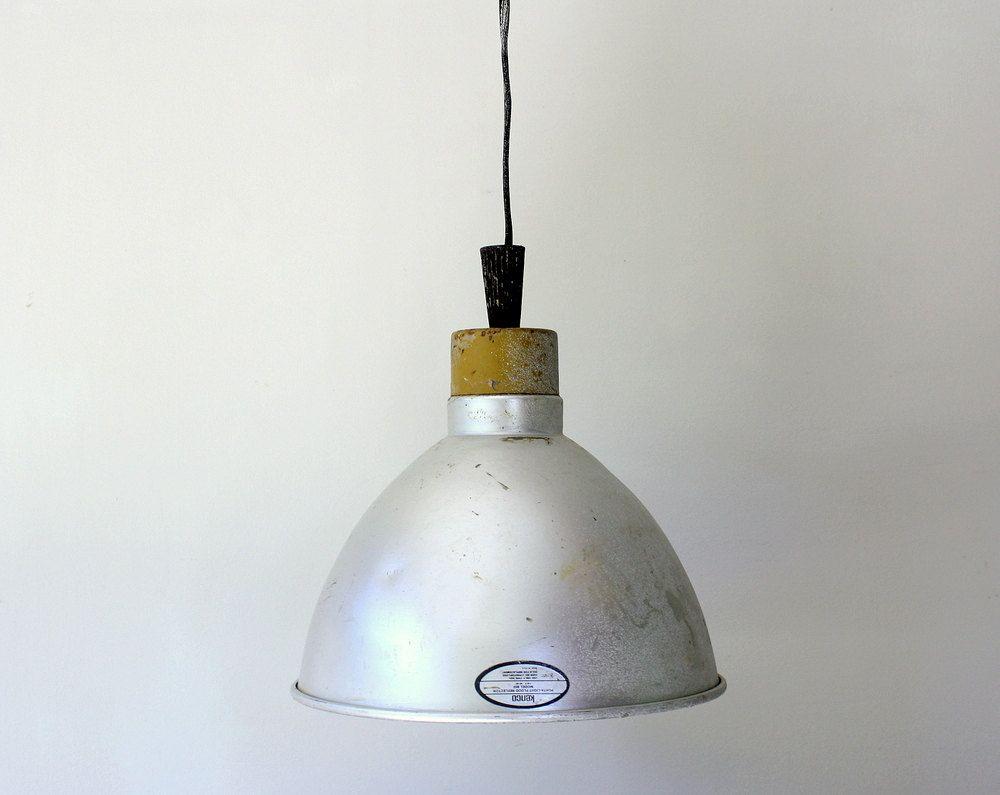 vintage industrial lamp shade fixture - Metal Lamp Shades