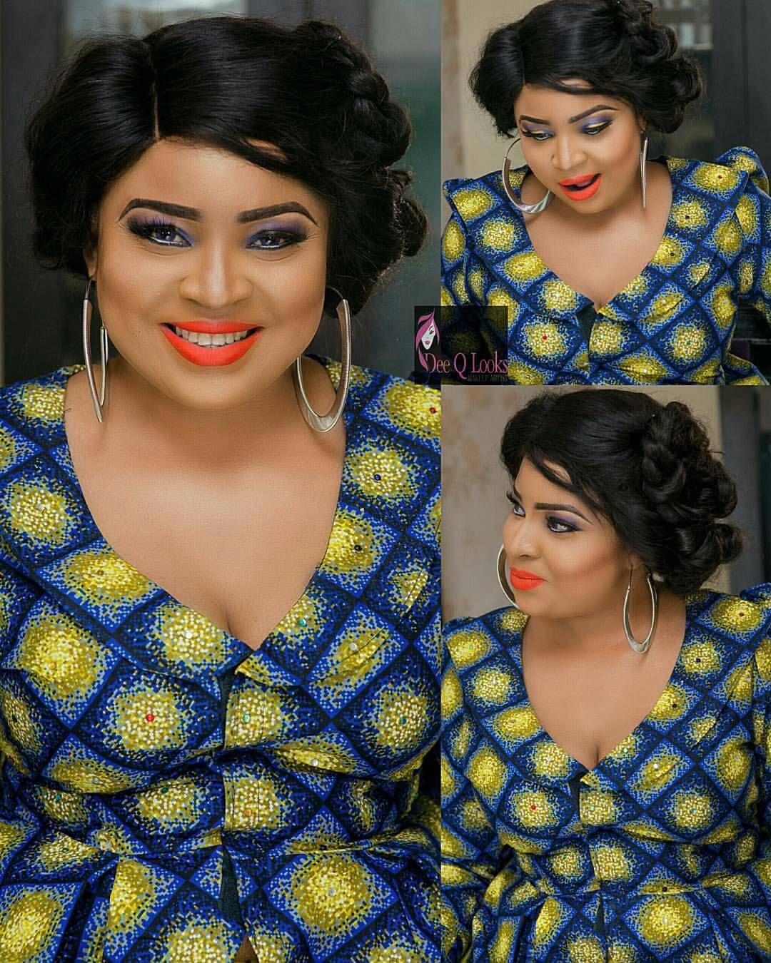❤❤ @abimbolaogunnowo #Fashion  Makeup by @deeqlooks