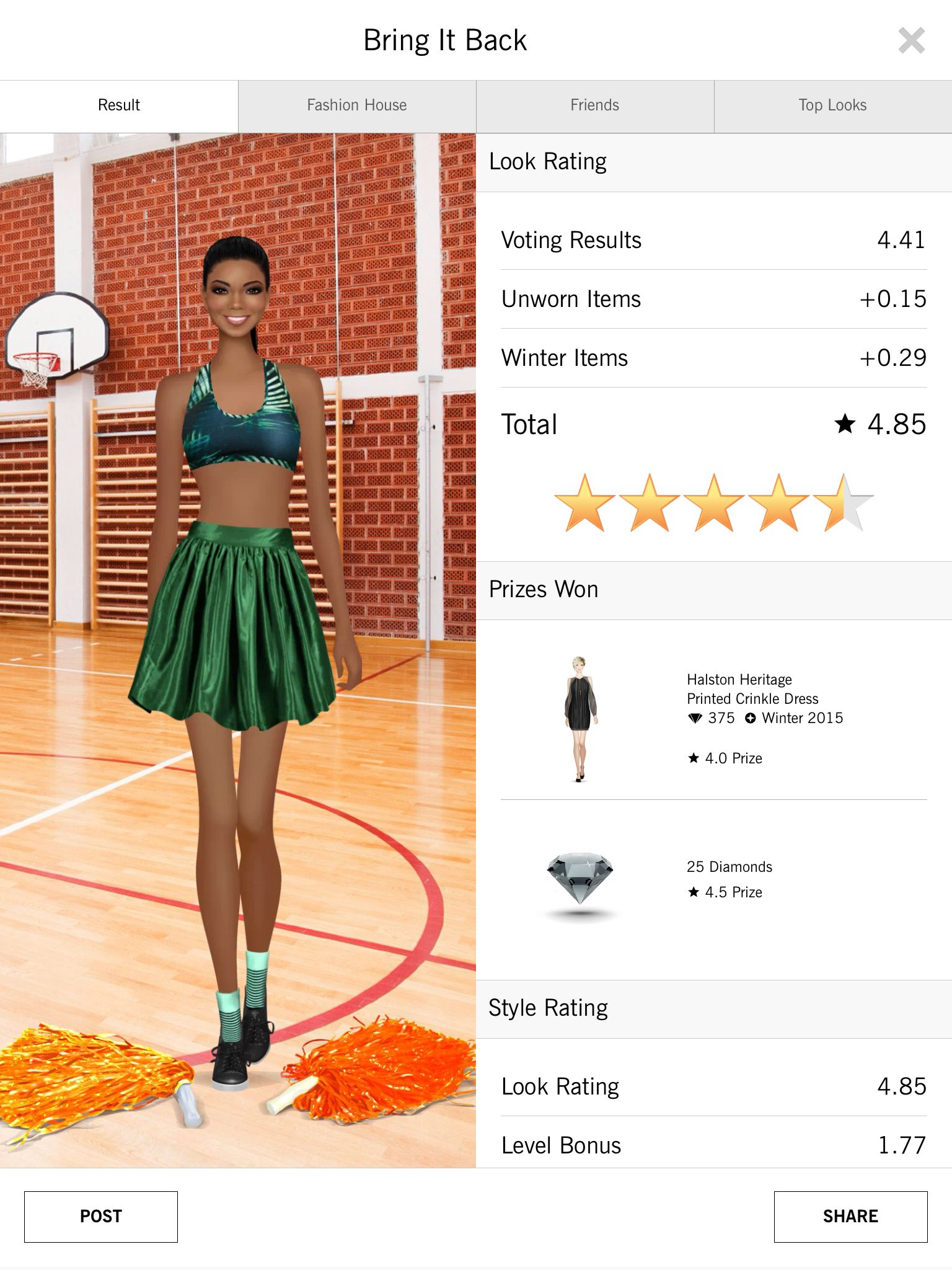 Covet fashion 4.50+ rating