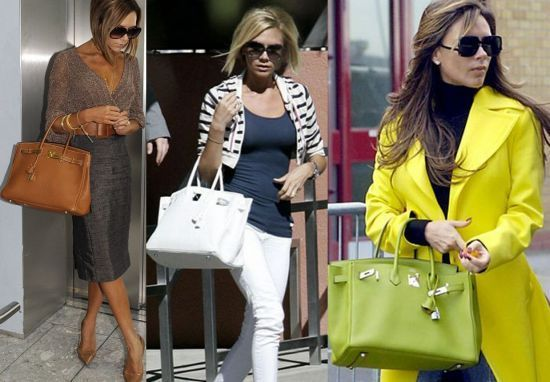 0ead197586 Victoria Beckham sporting a different Birkin for every outfit ...