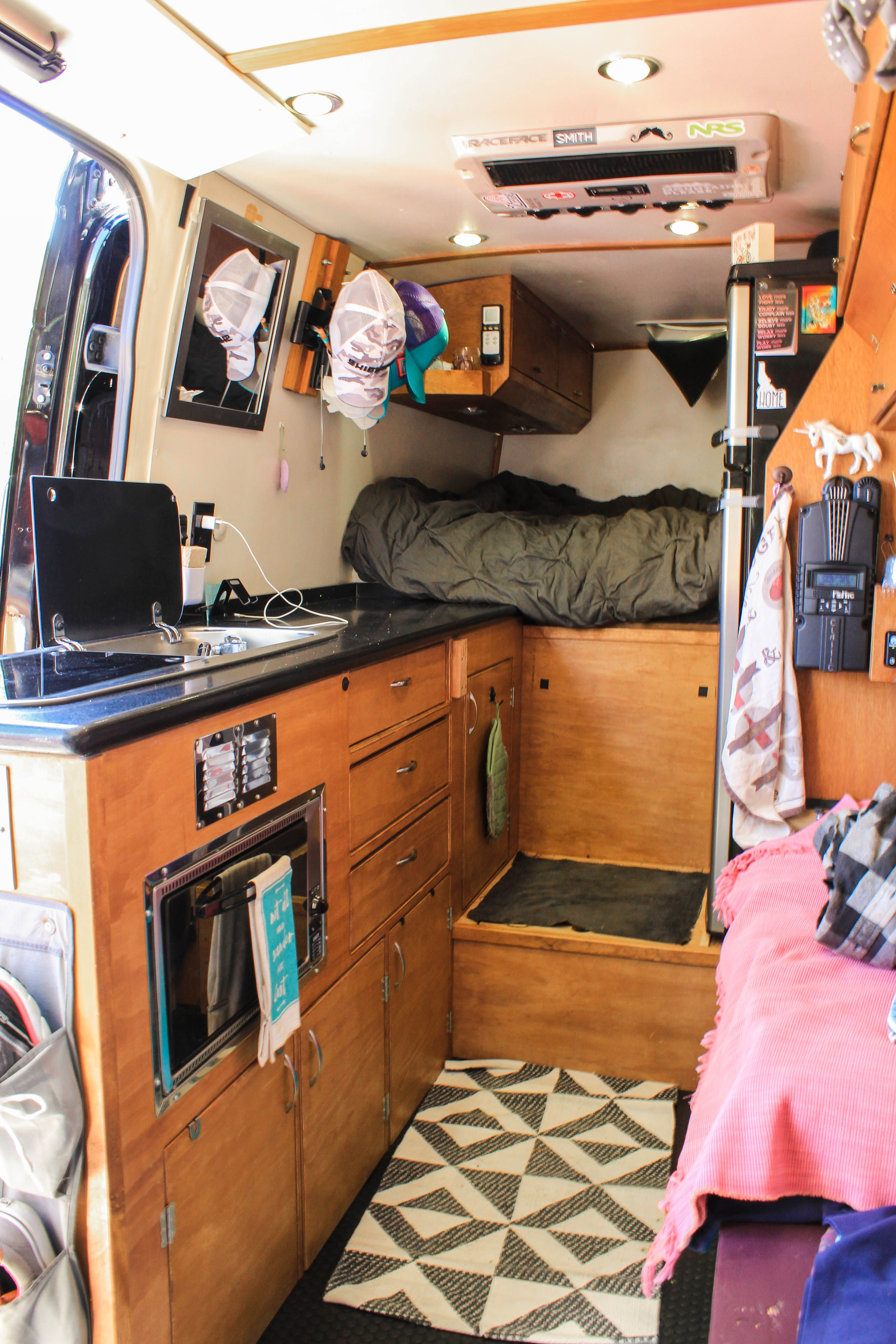 Amelia At The 2018 Van Expo In Lake Tahoe What We Love To See Even More Than A New Converted Van Coming Out Ford Transit Conversion Converted Vans Van Life