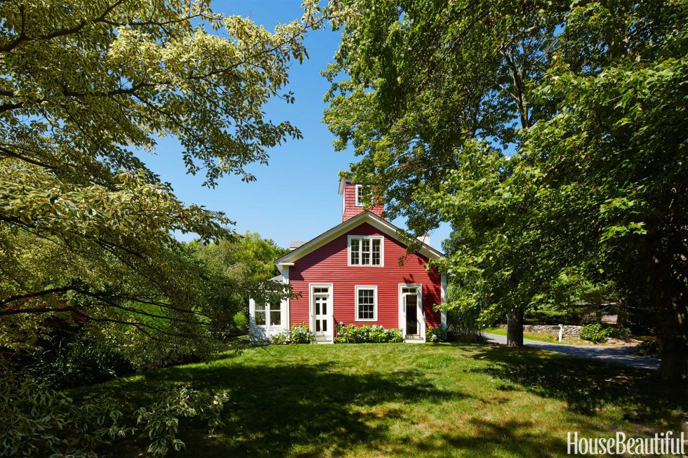 Tour a Little Red house That One Designer Calls Home | Country ... Little Red House Designs on london house designs, big orange house designs, sheldon small house designs, lakeside house designs, little cabin designs, indian house designs, small home designs, united states house designs,