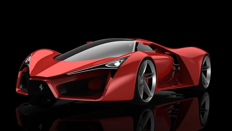 Adriano Raeli S Ferrari F80 Concept Is Like The Enzo Of The Future Ferrari F80 Ferrari Super Cars