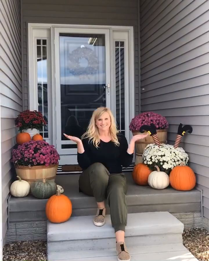 Fall Porch Refresh by The Chic(ish) Chick
