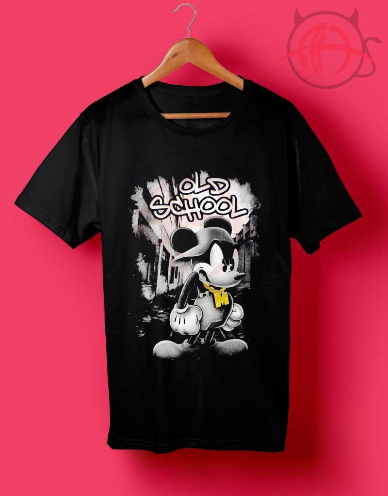de8910c23fef Mickey Mouse Old School Hip Hop Disney T Shirt   Price   14.50