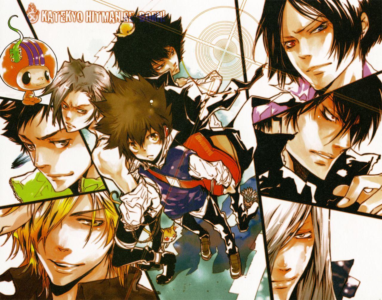 Épinglé par Tử Lăng sur Kateikyoushi Hitman Reborn (家庭教師ヒットマンリボーン) | Manga