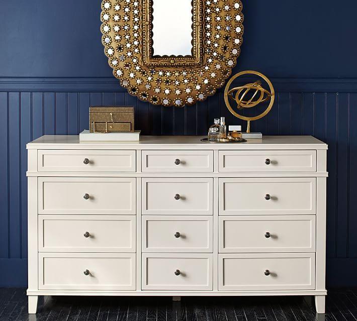 476b5c22bb1f Clara Extra-Wide Dresser | Stuff to Buy | Wide dresser, Extra wide ...