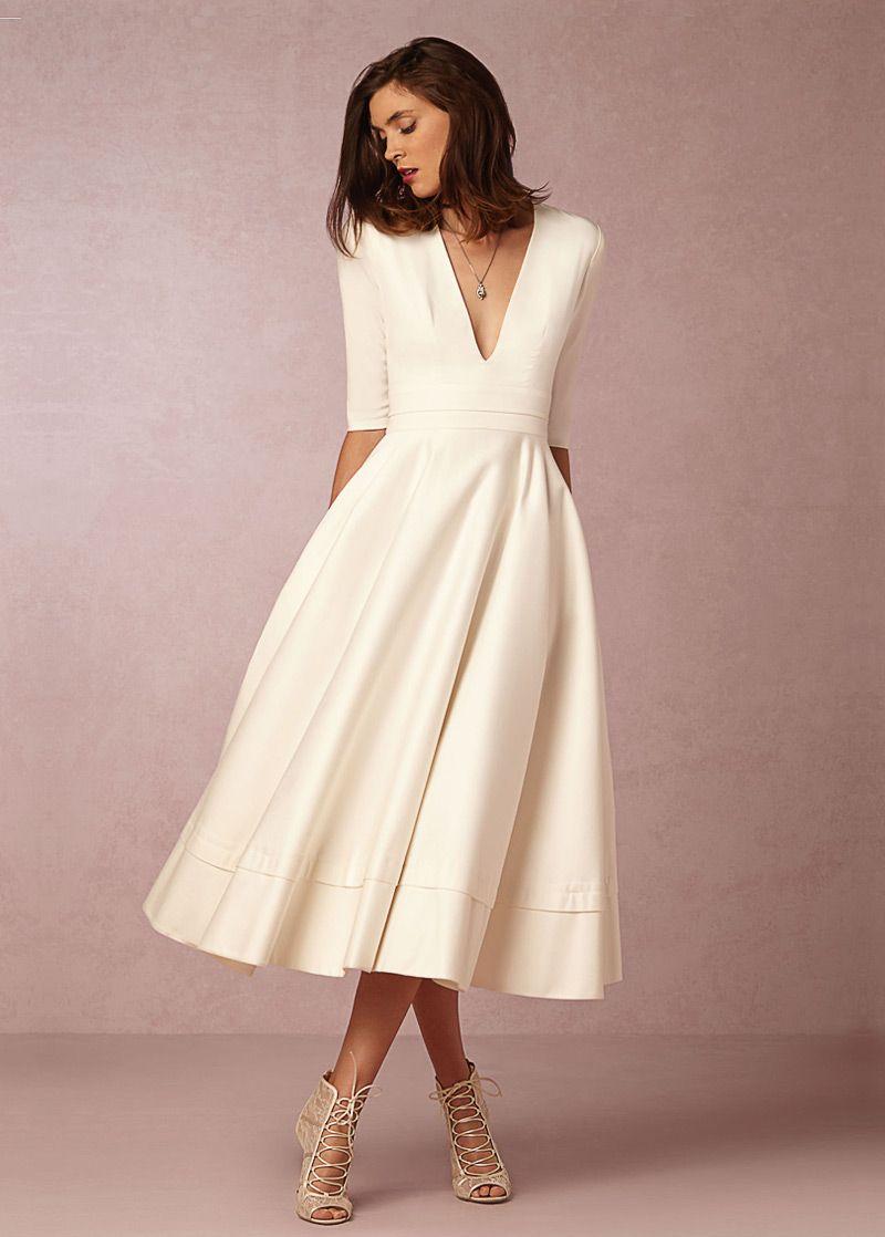 comprar -Como la seda delicada gasa de novia de escote Madre de los ...