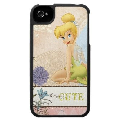 Tinker Bell - Outrageously Cute Iphone 4 Case