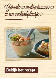 Varieer met makreel op verrassende wijze en maak er een zachte mousse van.