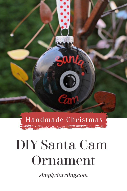 DIY Santa Cam Diy santa, Santa cam ornament, Santa cam