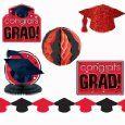 Congrats Grad Red Graduation Decorating Kit by Amazon, http://www.amazon.com/dp/B004QR21J6/ref=cm_sw_r_pi_doce