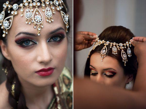 High fashion Indian bridal photo shoot! So pretty! #wedding