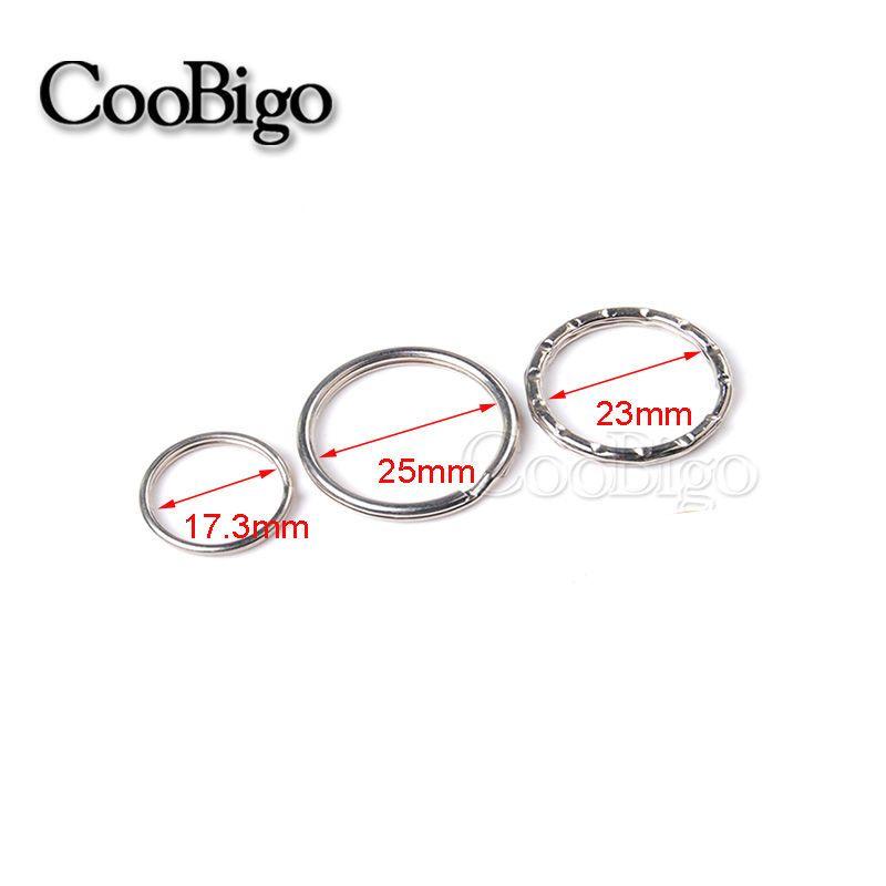 Jump Rings and Split Rings 150055: Key Rings Key Chain Split O-Rings ...
