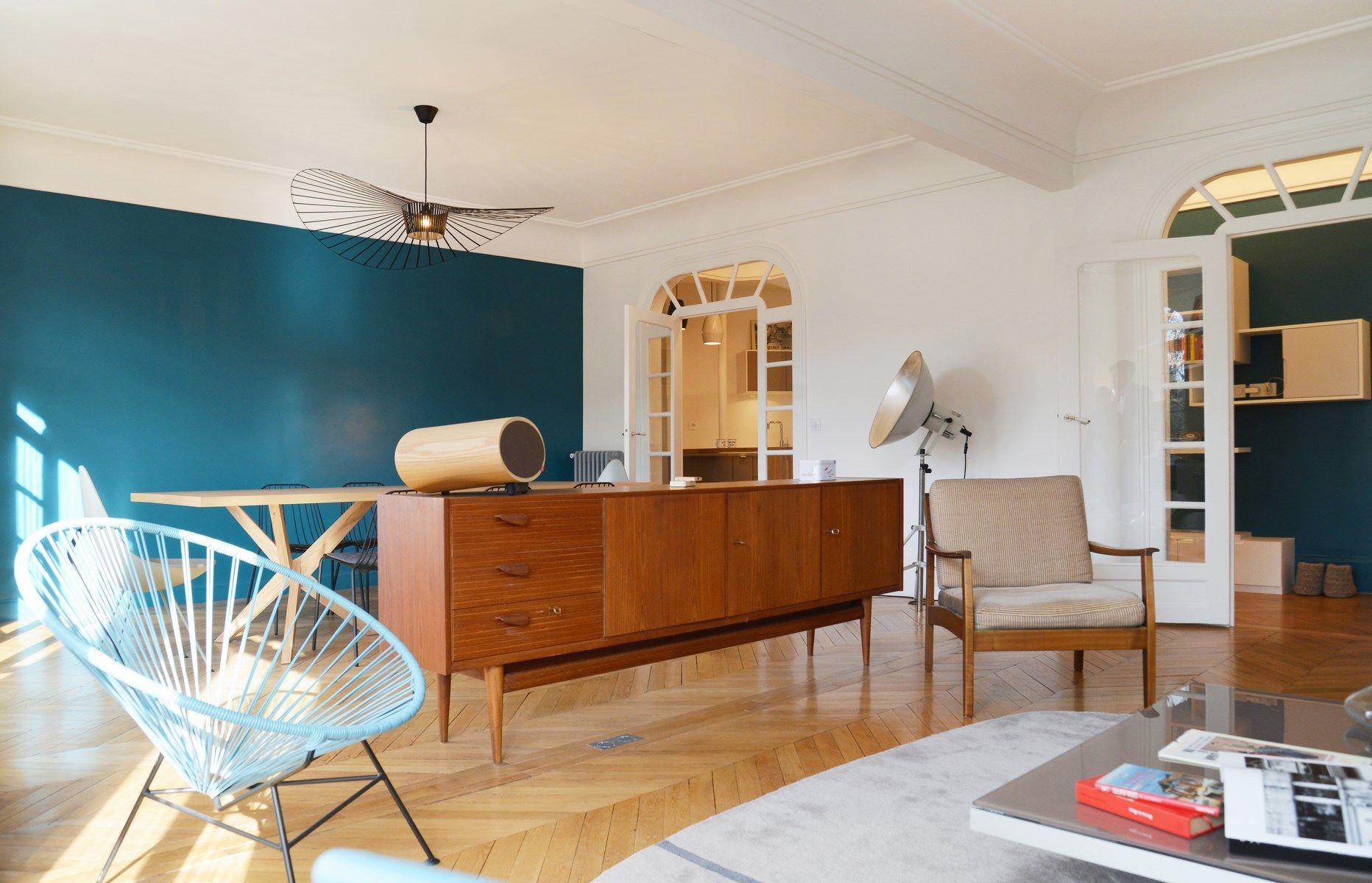 Design Nordique Double Sejour Art Deco Deco Salon Decoration Loft Deco