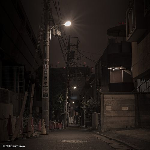 Walk into an alley  [Explored]