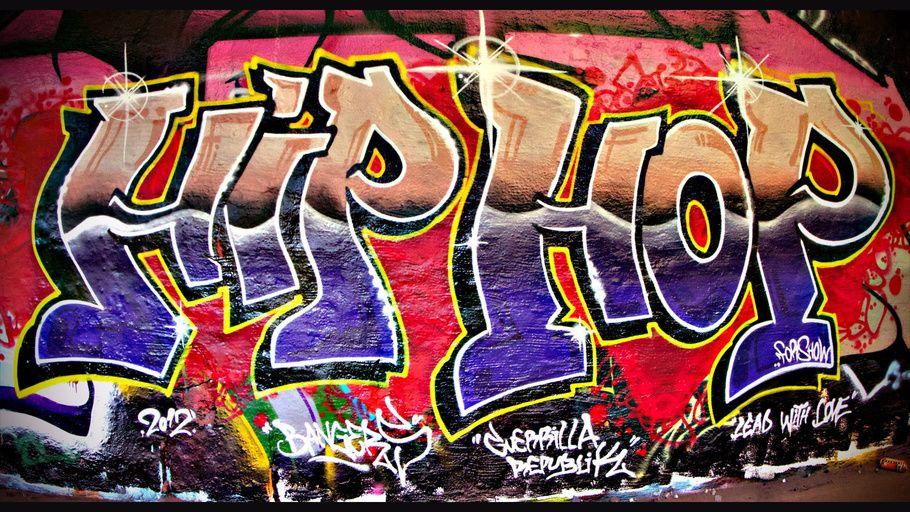 Street Art Graffiti Hip Hop Wall  Hot Stars