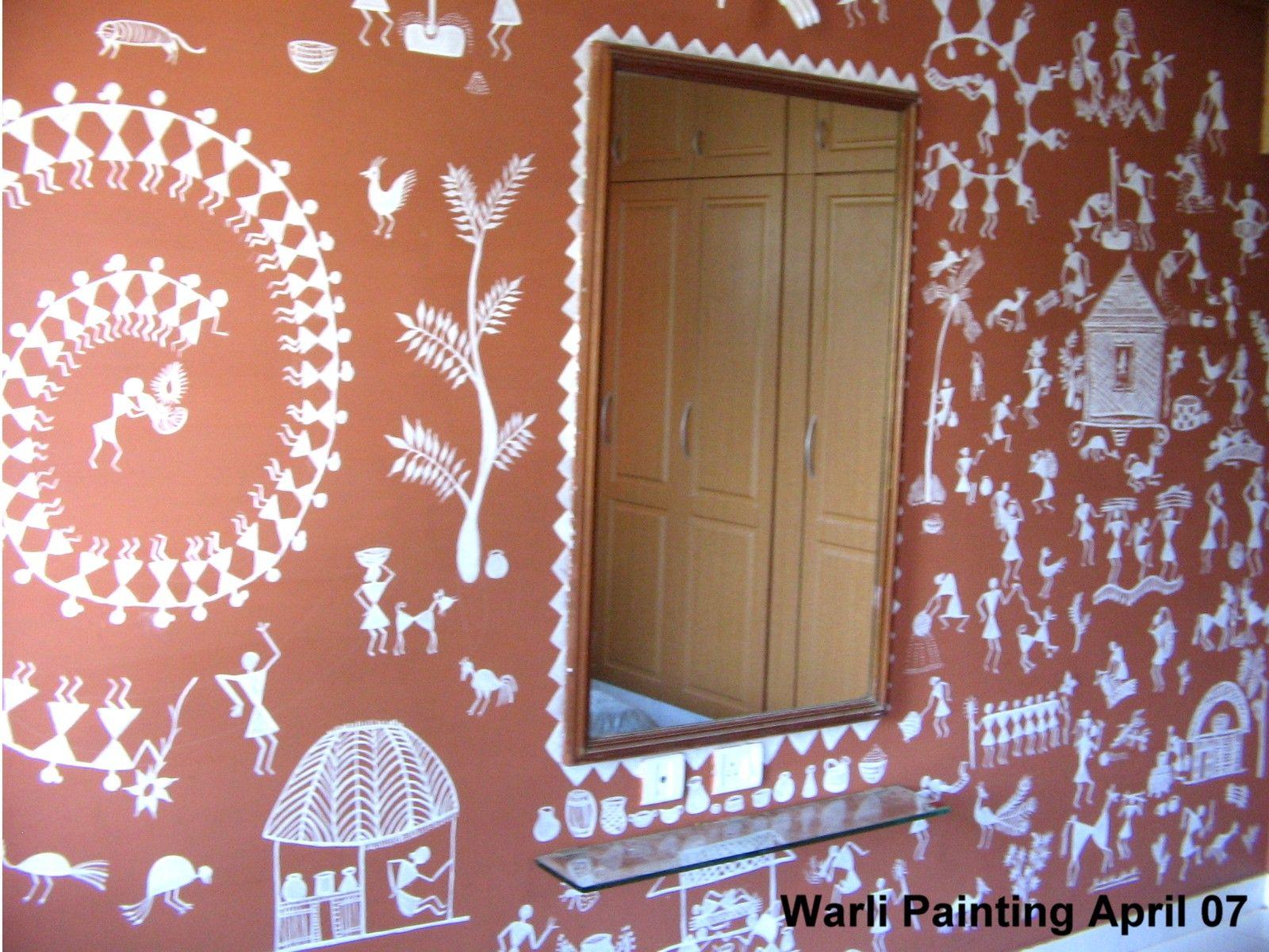Warli & Madhubani Paintings by deepika ramji at Coroflot