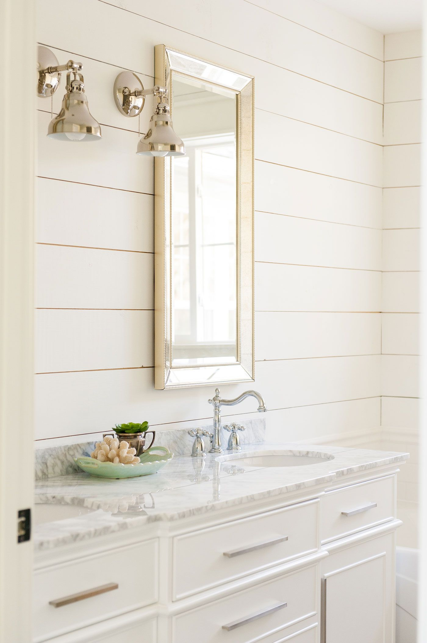 White Paint Colors: 5 Favorites for Shiplap | Bath Ideas | Pinterest ...