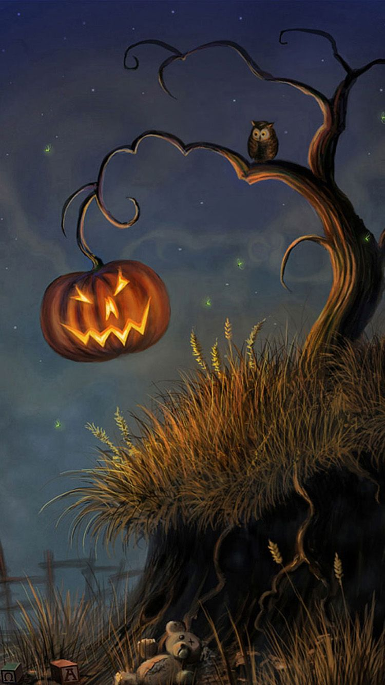 51 Scary Iphone 6 Halloween Wallpapers Halloween Pictures Halloween Painting Halloween Art