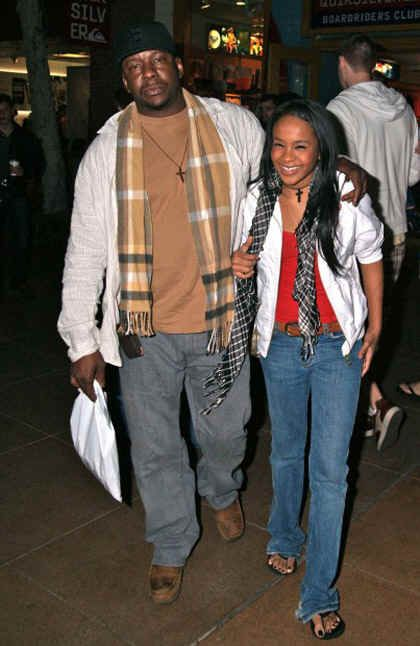 Bobbi Kristina Houston Brown Bobby Brown And Bobbi Kristina Brown