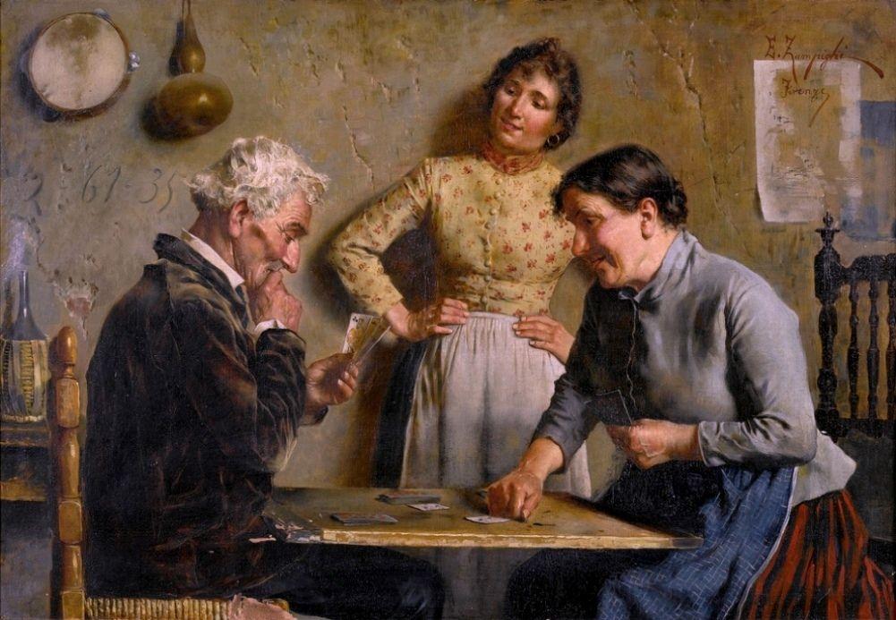 yz- Zampighi, Eugenio (b,1859)- Good Hand