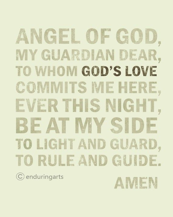 image relating to Guardian Angel Prayer Printable identified as Mother or father Angel Prayer (print as a result of Jodi Ulschmid at