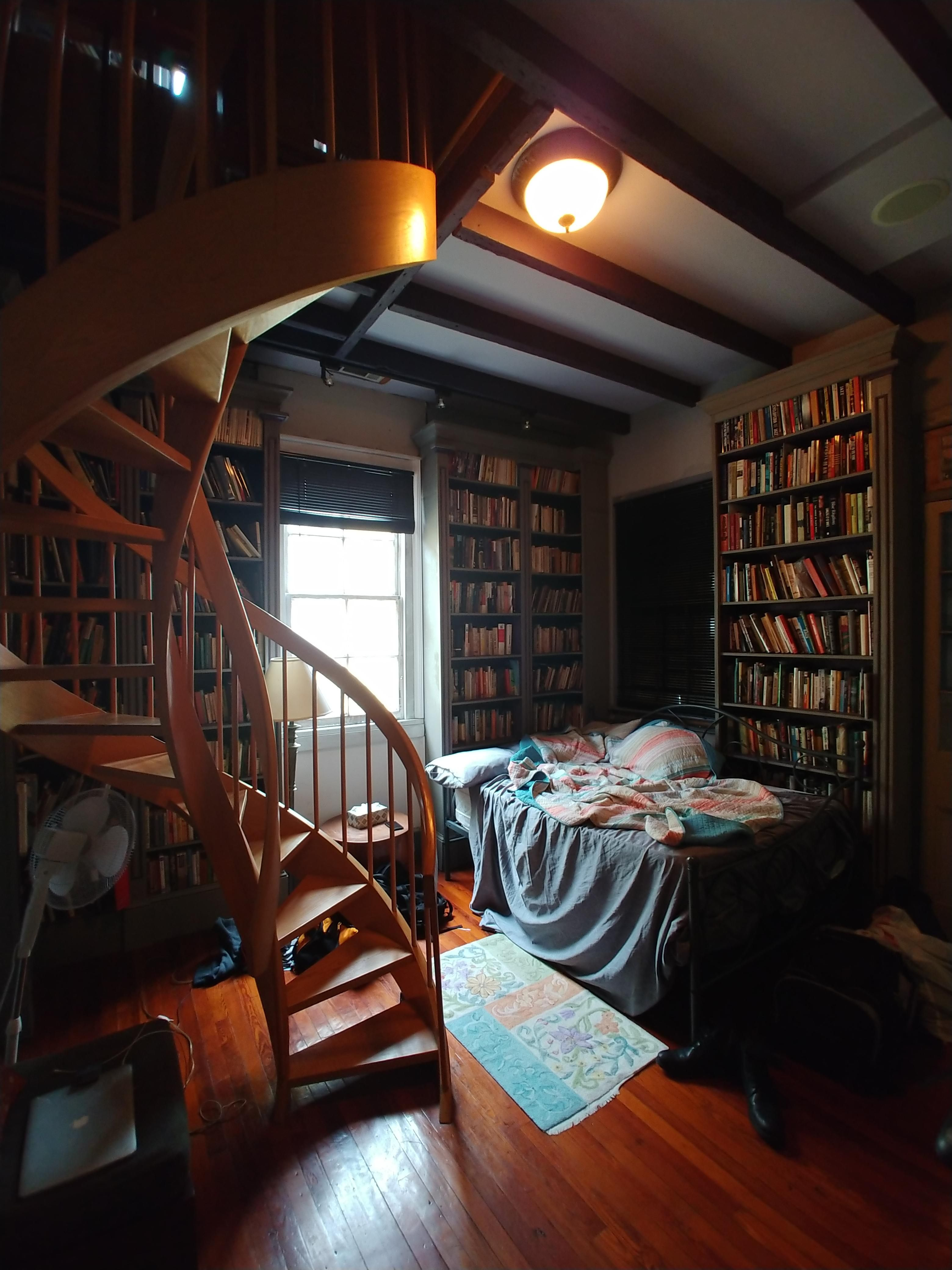 Library Room Ideas For Small Spaces: Library Bedroom, Comfy Bedroom