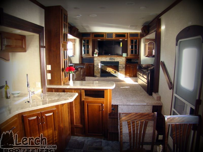 2014 Keystone Alpine 3495FL Front Living Room Fifth Wheel RV For Sale    Lerch RV Sales