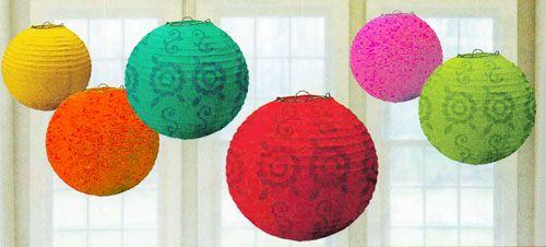mexican paper lanterns - Google Search