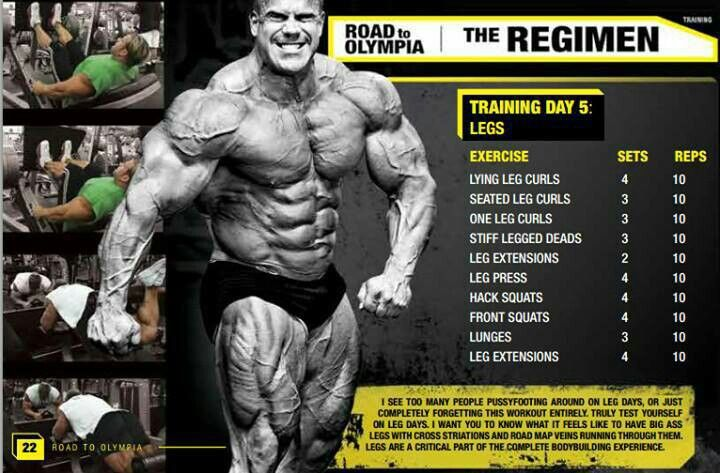 94216593d The ultimate leg routine by Jay Cutler. | Clangin and Bangin | Leg ...