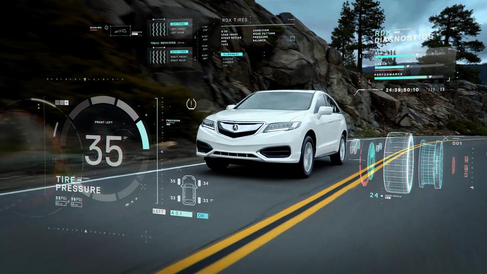 Acura Parts Service On Behance In 2020 Futuristic Technology Futuristic Acura