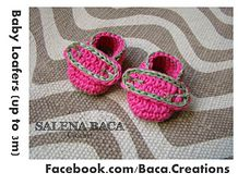 Ravelry: Baby Loafers (N, 0-3m, 3-6m, 6-9m) pattern by Salena Baca