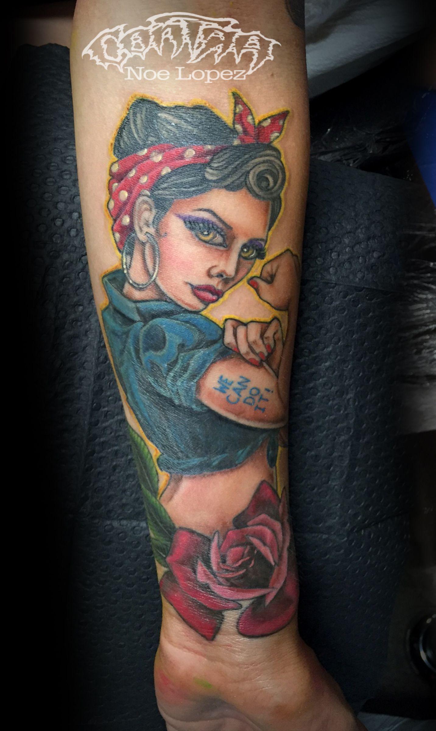 Rosie The Riveter Tattoo